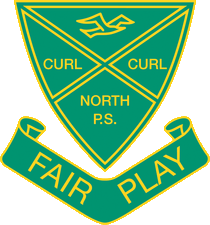 Curl Curl North Public School logo